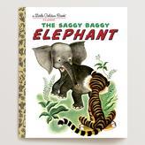 Cost Plus World Market The Saggy Baggy Elephant, a Little Golden Book