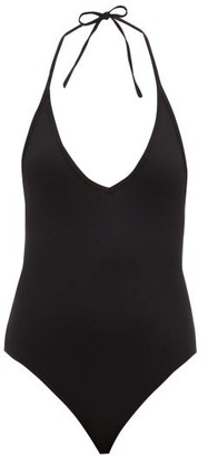 ATM - Halterneck Jersey Bodysuit - Womens - Black