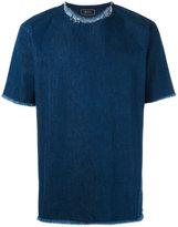 Paura denim 'Carmine' T-shirt - men - Cotton - S