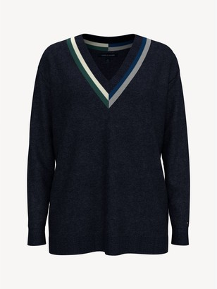 Tommy Hilfiger Essential Deep V-Neck Sweater