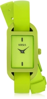 Versace Versus Ibiza Aluminum and Leather Wrap Women's Watch