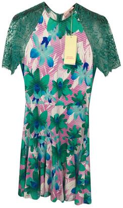 Matthew Williamson Green Viscose Dresses