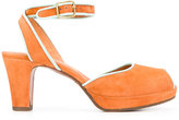 Chie Mihara Inara sandals - women - Calf Leather/Calf Suede/rubber/Leather - 36
