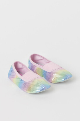 H&M Shimmery Ballet Shoes - Pink