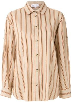 Nk Striped Linen Shirt