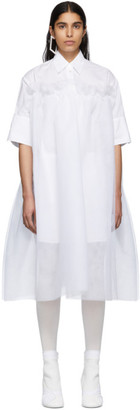 MM6 MAISON MARGIELA White Tulle Dress