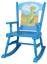 Levels of Discovery Olive Kids Dinosaur Rocking Chair - Blue