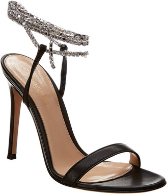 Gianvito Rossi Serena 100 Leather Sandal