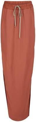 Rick Owens Dirt maxi skirt