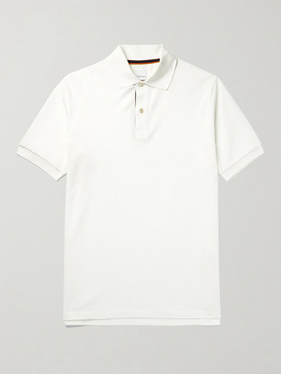 Paul Smith Cotton-Pique Polo Shirt - Men - White