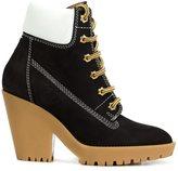 Maison Margiela chunky heel lace-up boots