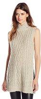 Greylin Women's Ina Tunic Mock Neck Sweater