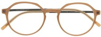 Mykita Round-Frame Clear-Lens Glasses