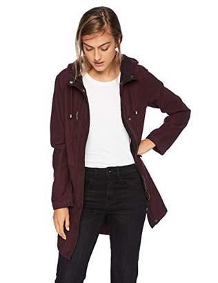Levi's Women's Soft Slub Cotton Hooded Fishtail Parka Jacket