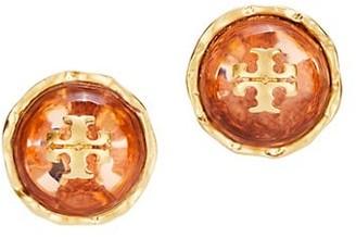 Tory Burch Roxanne Logo Stud Earrings