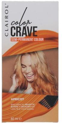 Clairol Color Crave 60ML Semi Permanent Hair Colour Apricot