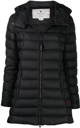 Woolrich Quilted Hooded Parka