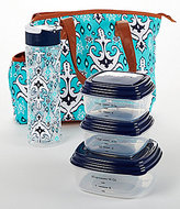 Fit & Fresh Camden Ikat Scroll Insulated Lunch Bag Kit