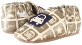 Robeez Modern Transportation Soft Soles (Infant/Toddler) (Beige/Taupe) - Footwear