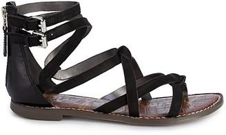 Sam Edelman Gaton Strappy Suede Sandals