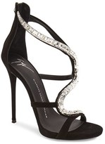 Giuseppe Zanotti Women's 'Alien' Crystal Sandal