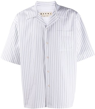 Marni Zigzag Pattern Shirt