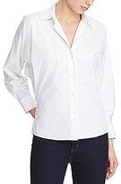 Lauren Ralph Lauren Dolman-Sleeve Poplin Shirt