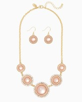 Charming charlie Sunshine Shimmer Necklace Set