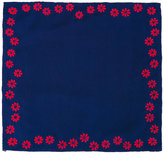 Jupe By Jackie - floral embroidered pocket square - men - Silk - One Size
