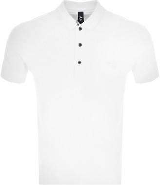 Replay Short Sleeved Logo Polo T Shirt White