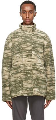 Han Kjobenhavn Grey Marble Track Fleece Jacket
