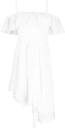 Etoile Isabel Marant Off-Shoulder Cotton Dress