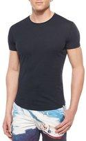 Orlebar Brown Tommy Crewneck Short-Sleeve T-Shirt, Black