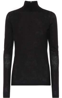 Jil Sander Cotton turtleneck sweater