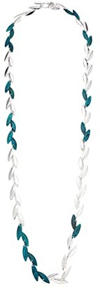 Robert Lee Morris Long Torsade Necklace (Green Patina) Necklace