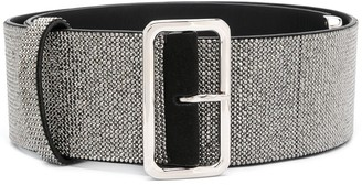 Ermanno Scervino Crystal-Embellished Belt