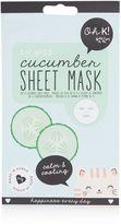 Topshop Cucumber Sheet Mask