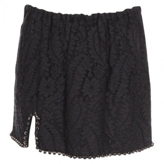 N°21 N21 Black Cotton Skirt for Women