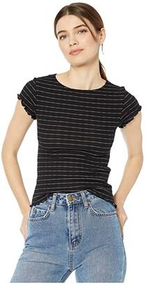 Billabong Secret Love Tee (Black) Women's T Shirt