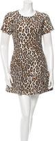 Sea Leopard Print Dress