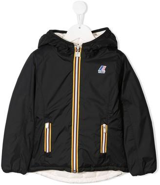K Way Kids Lily Thermo Plus reversible jacket