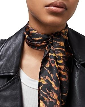 AllSaints Ambient Silk Skinny Scarf