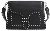Rebecca Minkoff Slim Midnighter Leather Crossbody Bag - Black