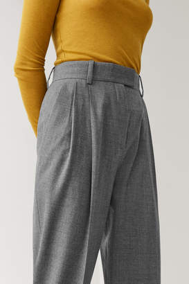 Cos DROPPED CROTCH WOOL PANTS