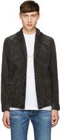Visvim Black Kobush Shawl Collar Jacket