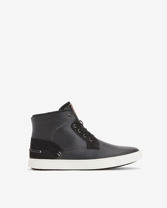 Express High-Top Lace-Up Sneakers