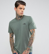 The North Face Simple Dome T-Shirt in Dark Green EXCLUSIVE TO ASOS