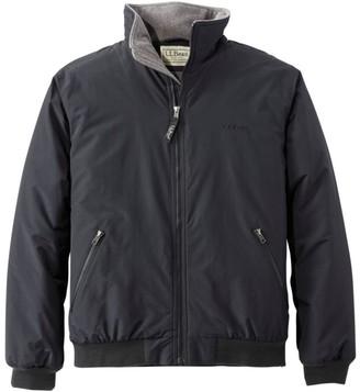 L.L. Bean L.L.Bean Men's Warm-Up Jacket, Fleece Lined