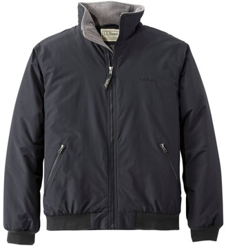 L.L. Bean Men's Warm-Up Jacket, Fleece Lined