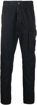 Stone Island Logo Patch Trousers